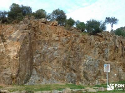 Garganta de Picadas - Vía Verde del Alberche; sierra de madrid senderismo